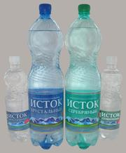 Минеральная вода Хрустальный Исток и Серебряный Исток