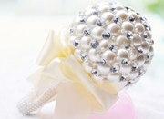 Эксклюзивные свадебные брошь-букеты ручной работы