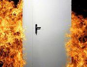 Противопожарные двери, металлические двери, маятниковые, технические