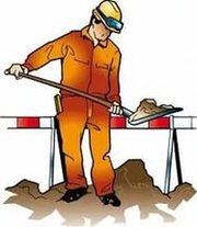 Ручная копка.земляные работы